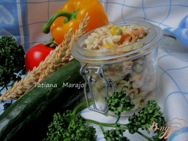 фото рецепта: Салат с тунцом
