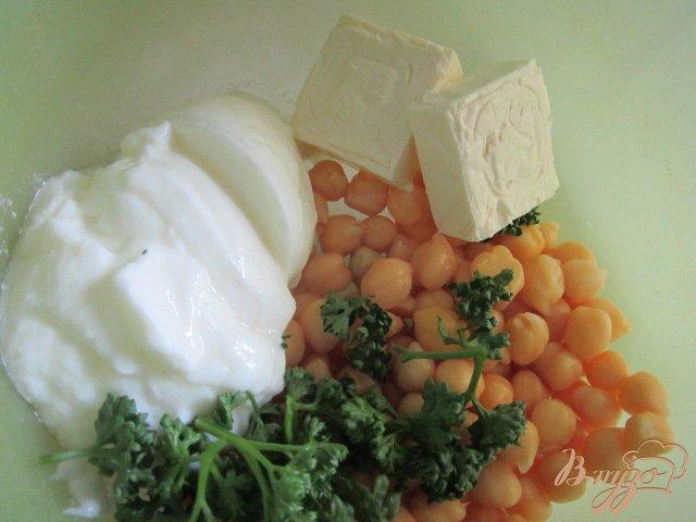 Фото приготовление рецепта: Дип из гороха нут шаг №1