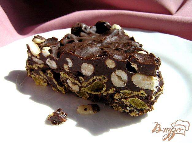 Рецепт Хрустящий шоколадный торт