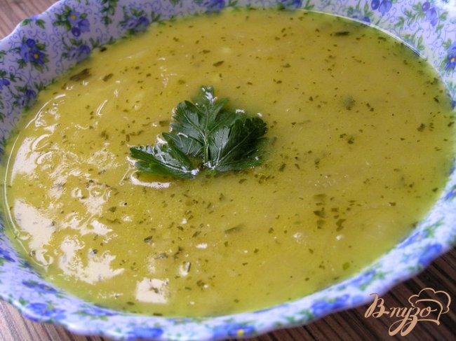 Фото приготовление рецепта: Пряный луковый суп по-персидски шаг №9