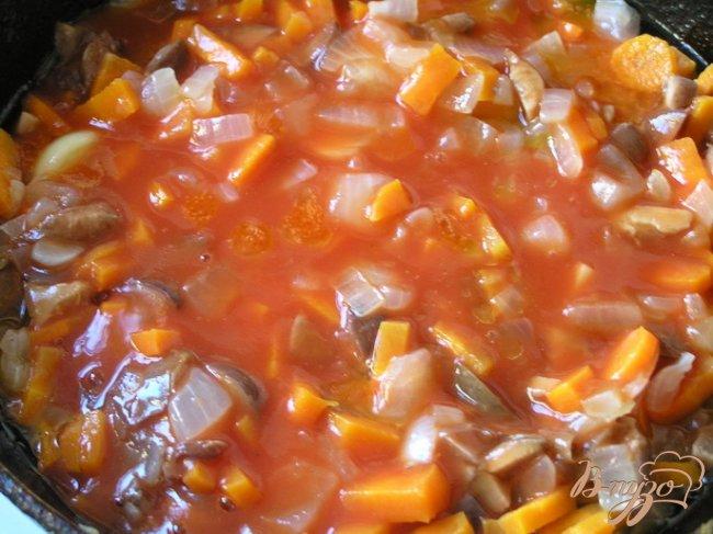 Фото приготовление рецепта: Овощная солянка шаг №3