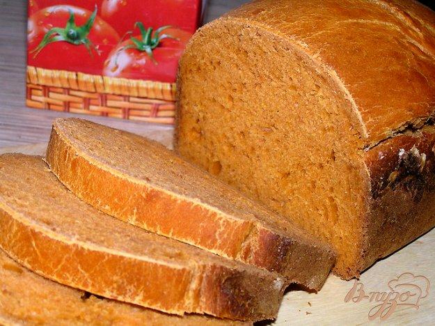 фото рецепта: Томатный хлеб с паприкой