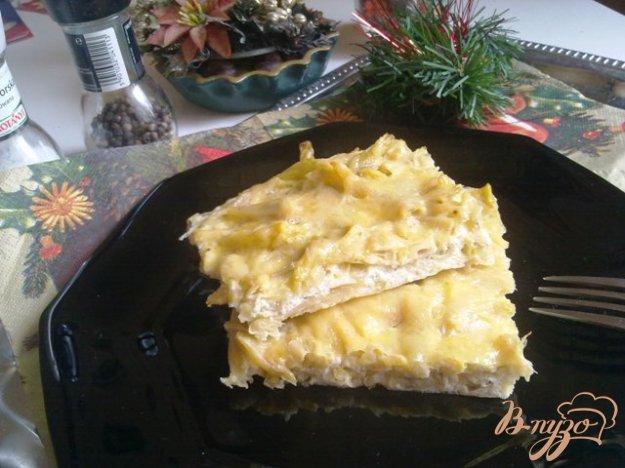 Рецепт Омлет со спаржевой фасолью и сыром
