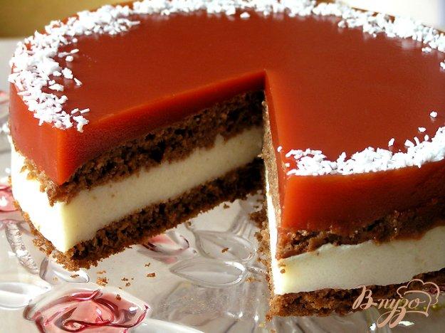Рецепт Шоколадный кокосово-томатный торт