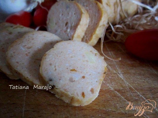 Фото приготовление рецепта: Домашние куриные кобласки шаг №9