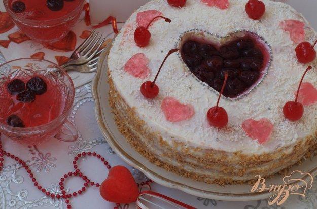 """Рецепт Торт """"Сердце для любимого"""""""