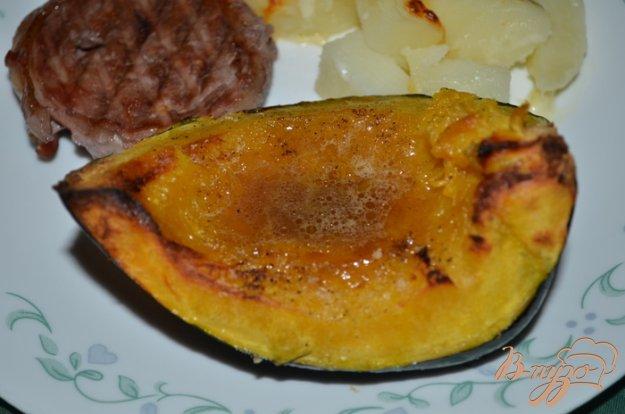 Рецепт Акорн тыква с апельсиновой глазурью
