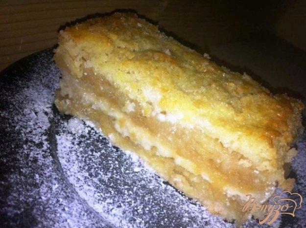 Рецепт Насыпной яблочный пирог
