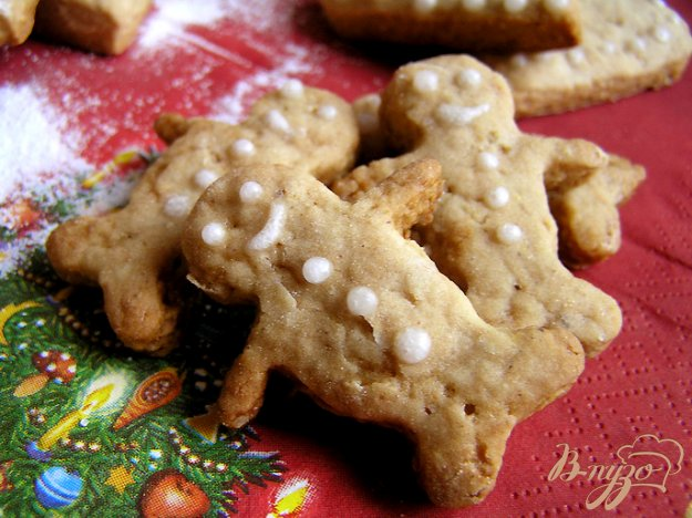 Рецепт Печенье Имбирные человечки