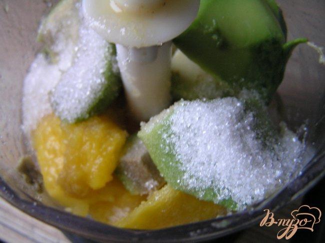 Фото приготовление рецепта: Крем-мусс
