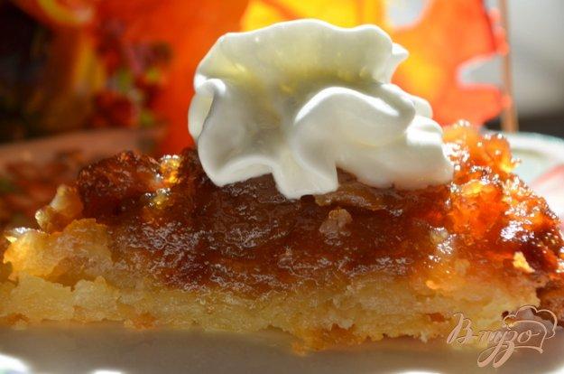 Рецепт Перевернутый яблочный тарт