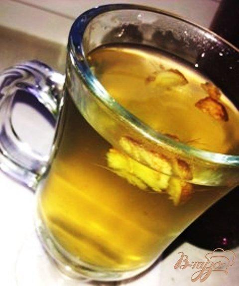 Рецепт Заленый чай с имбирем и лимоном
