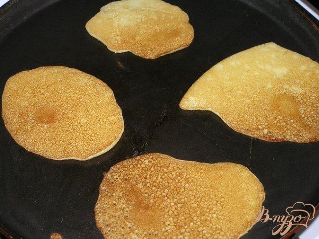 Фото приготовление рецепта: Кукурузные оладьи к завтраку шаг №6