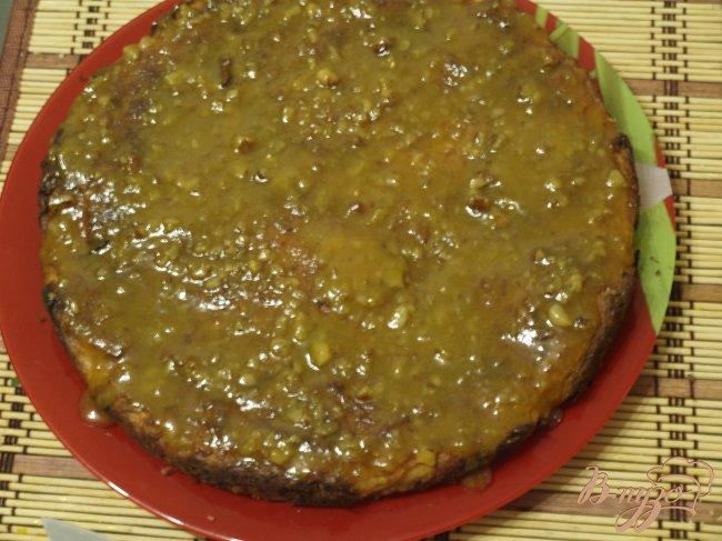 Фото приготовление рецепта: Тыквенный пирог с ириской шаг №4