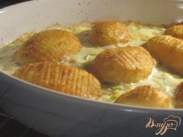Фото приготовление рецепта: Пикантный картофель шаг №5