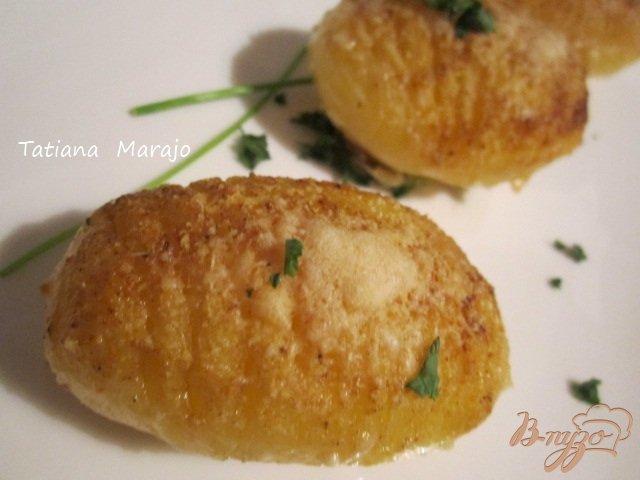 Фото приготовление рецепта: Пикантный картофель шаг №6