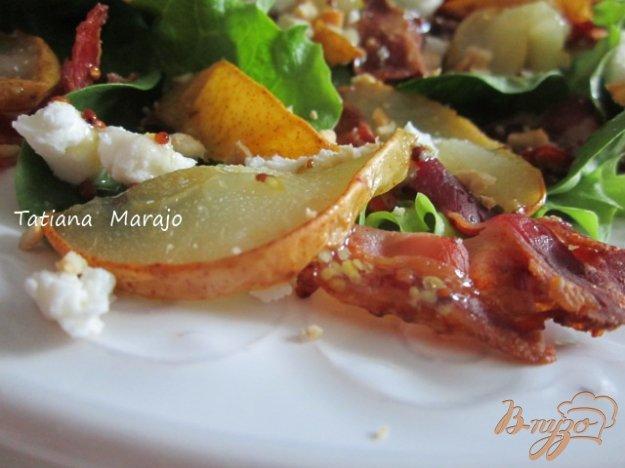 Рецепт Салат с печеной грушей