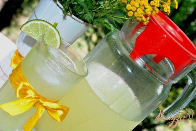 фото рецепта: Имбирно-мятный лимонад
