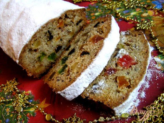 фото рецепта: Пряный рождественский кекс (выдержка 3-6 недель)