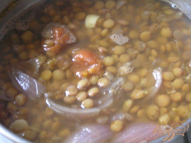 Фото приготовление рецепта: Египетская чечевичная похлебка шаг №3