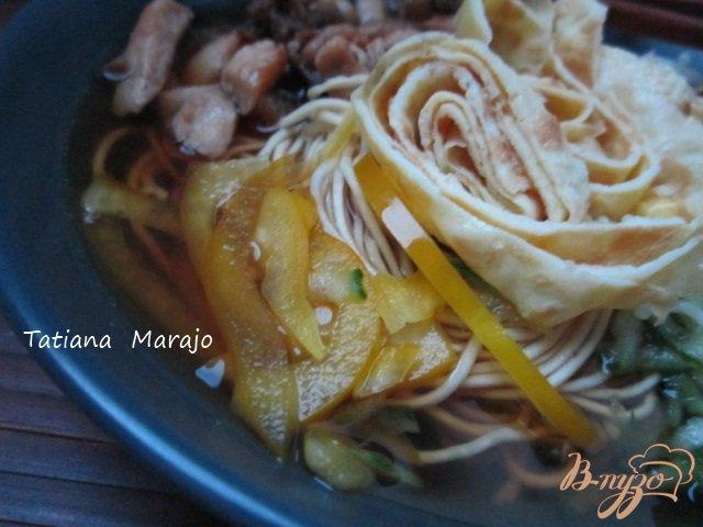 Фото приготовление рецепта: Кукси (корейский суп) шаг №10