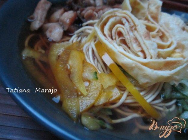 фото рецепта: Кукси (корейский суп)