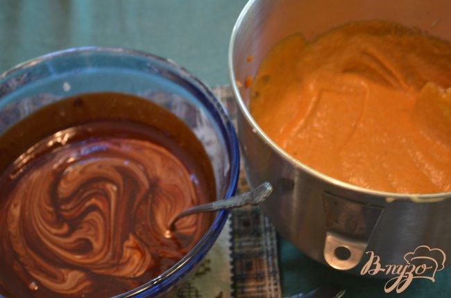 Фото приготовление рецепта: Тыквенный брауни шаг №5