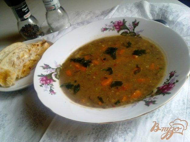 фото рецепта: Суп из чечевицы по-венгерски