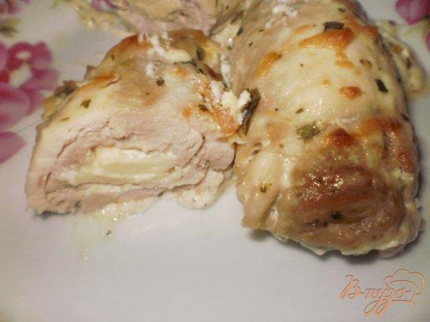 Рецепт куриные рулетики в сливочном соусе