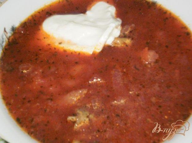 Рецепт Борщ со свежей капустой