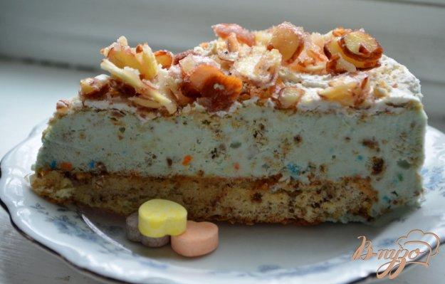 Рецепт Миндальный хрустящий бисквит