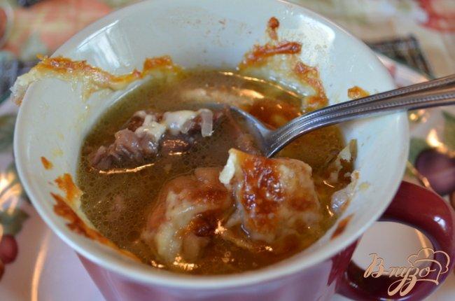 Фото приготовление рецепта: Суп с говяжьими ребрышками шаг №10