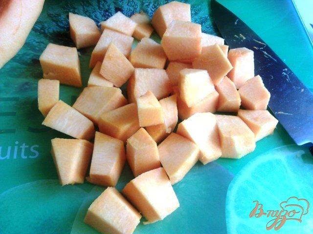 Фото приготовление рецепта: Заготовка  тыквы шаг №3