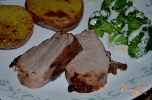 Рецепт Пикантное свиное филе