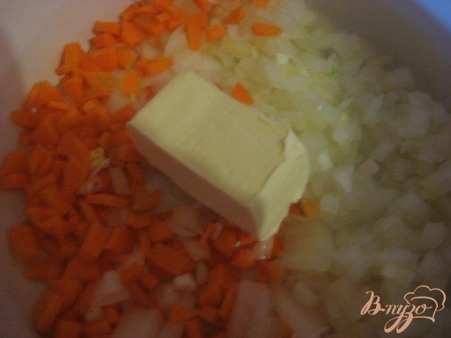 Фото приготовление рецепта: Грибной суп-пюре шаг №4
