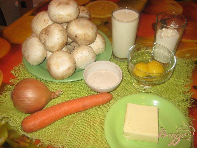 Фото приготовление рецепта: Грибной суп-пюре шаг №1