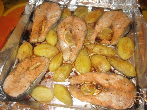 Как запекать рыбу в фольге с картошкой в духовке рецепт с пошагово