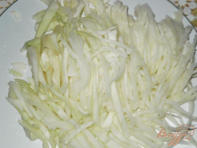 Фото приготовление рецепта: Салат из свежих овощей и ветчины шаг №1