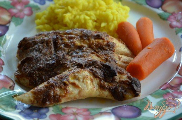 фото рецепта: Пряные куриные грудки в майонезе