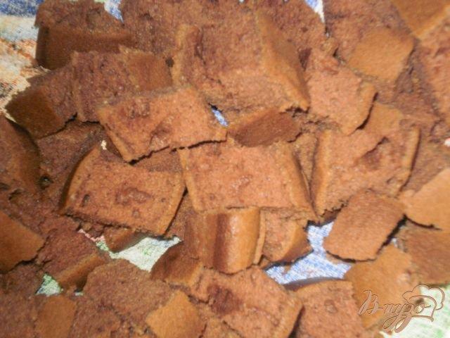 Фото приготовление рецепта: Шоколадный торт