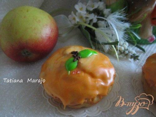 Яблочно-марципановые кексики