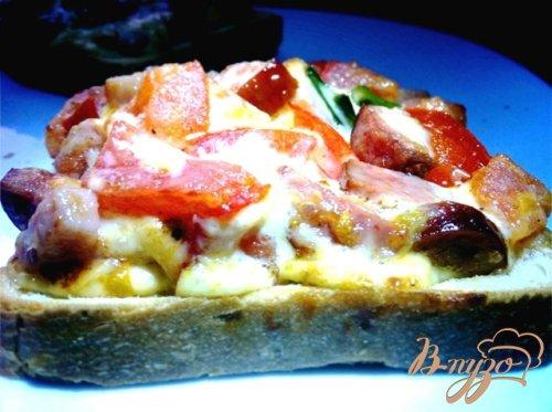 Горячие закусочные бутерброды