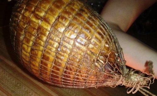 Копченое филе индюка
