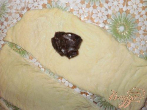 Вкусные слойки с шоколадом