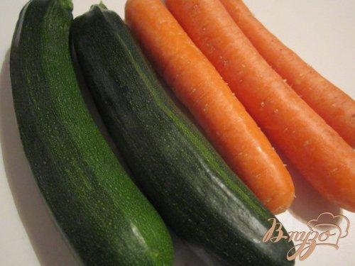 Филе скумбрии с овощной пастой на пару