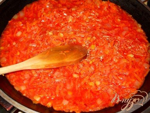 Голубцы под томатным соусом