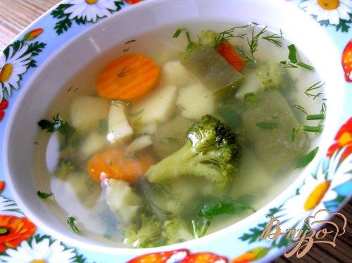 "Суп ""Овощной микс"""