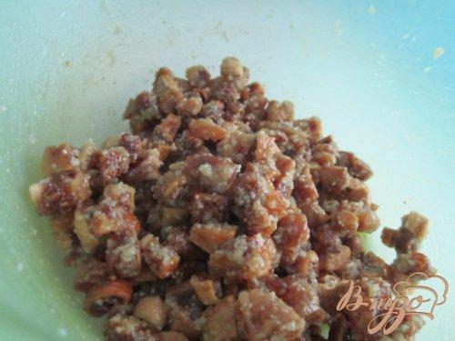 Рассыпчатое печенье с сухофруктами