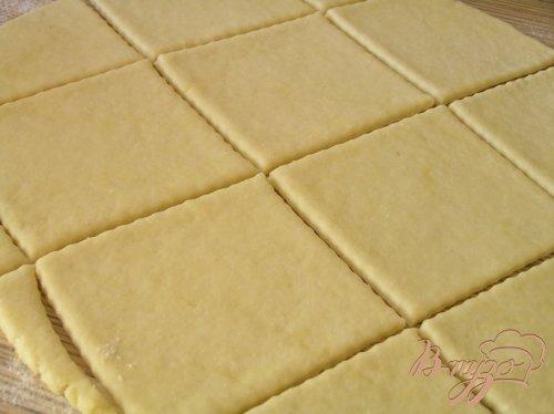 Творожное печенье-пирожное