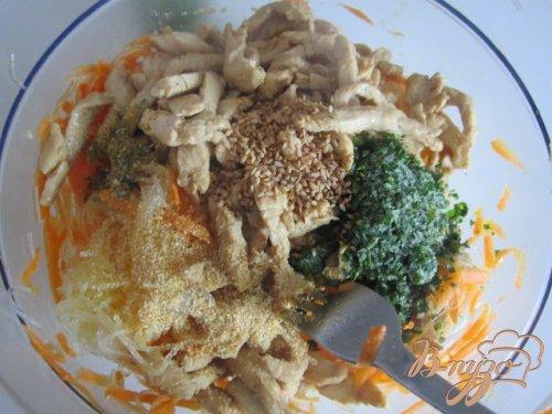 Салат по-азиатски